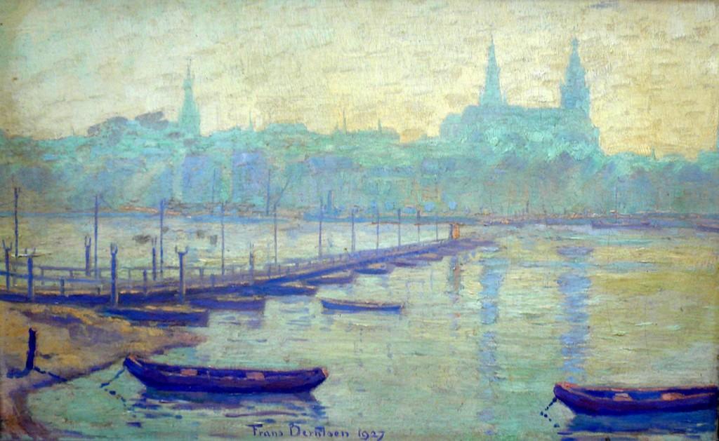 Schilderij Frans Berntsen 1927